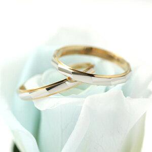 結婚指輪マリッジリングプラチナペアリング♪【イニシャル刻印★ラッピング無料】イニシャル入りゴールドプラチナリング結婚ブライダルジュエリーとして人気ペアリング指輪