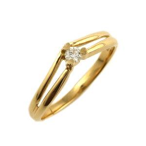 婚約指輪18金イエローゴールド18金金K1818kダイヤモンドリング結婚【_包装】