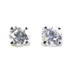 耳元に輝くシンプルダイヤモンド今ならラッピング無料◆( Pt ) ダイヤモンドピアス【SUEHIRO】...