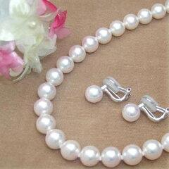 希少なエクセレントパール。今ならラッピング無料◆花珠真珠エクセレントパールネックレス・イ...