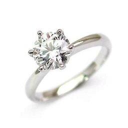 婚約指輪 エンゲージリング プラチナ ダイヤモンド リング【楽ギフ_包装】 末広 【今だけ代引手数料無料】