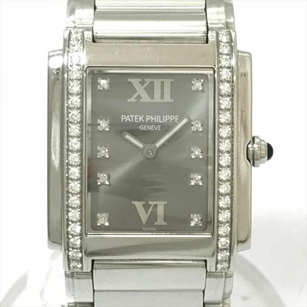 パテックフィリップ (PATEK PHILIPPE) twenty 4 4910/10A-101 stainless steel (SS) quartz Ladys watch netshop