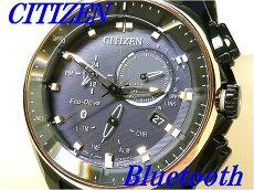 ☆新品正規品☆『CITIZENBluetooth』シチズンブルートゥースエコ・ドライブ腕時計メンズBZ1024-05E【送料無料】