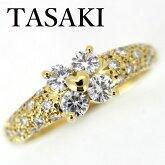 田崎真珠TASAKIダイヤモンド0.56ctリングK18【中古】