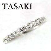 TASAKIダイヤモンド0.96ctフルエタニティーリングPt950
