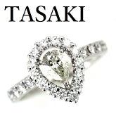 田崎真珠TASAKIダイヤモンド0.535ctJ-SI10.52ctリングK18WG【中古】