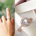 指輪 リング 若々しさと気品が漂う 煌き1.1ctダイヤモン...