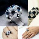 指輪 リング K18 女性らしいエレガントな雰囲気/スワロフスキー彩石...