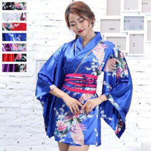 Vestido Yukata Kimono Adulto Estilo Japonés Oiran Cosplay Traje Yosakoi Vestido Yukata Vestido Joya Kimono Vestido Patrón Asimetría