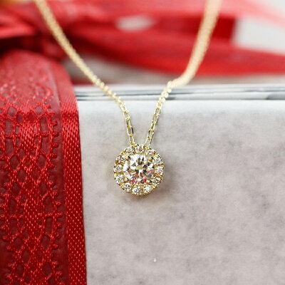 彼女へのクリスマスプレゼントにおすすめのネックレス「ダイヤモンド」