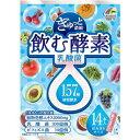 【送料一律540円】ぎゅっと濃縮 飲む酵素 乳酸菌 15g×14本 ユニマットリケン