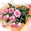 【ピンク・花束・バラ】お祝い・お誕生日・結婚お祝・出産お祝・開店お祝・結婚記念日・お礼・発表会・季節のお花・お返しプレゼント・成人式・バレンタイン・ホワイトデー・退職祝い・入学祝いなど。【楽ギフ_包装】【楽ギフ_メッセ入力】
