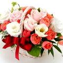 【パステルカラー・アレンジ・ローズ】お祝い・お誕生日・結婚お祝・出産お祝・開店お祝・結婚記念日・お礼・発表会・季節のお花・お返…