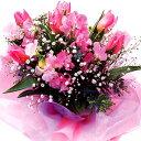 【春のお花・花束・チューリップ・スイートピー】お祝い・お誕生日・結婚祝・出産祝・開店祝・結婚記念日・お礼・発表会・季節のお花・…