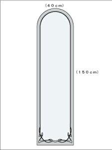 アールヌーヴォー半円400×1500図面