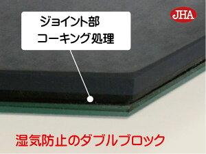 裏面:湿気完全防止のダブルブロック工法