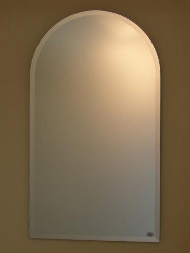 鏡 ミラー 壁掛け鏡 ウォールミラー《デラックス》 柄なし ...