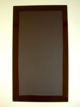【送料無料】鏡 ミラー 洗面鏡 化粧鏡【JHAデザインミラー】 ファンタジー(グリーン) W400×H700【ビス用】(フレームレスミラー ノンフレーム 化粧鏡 玄関 洗面 トイレ 寝室 おしゃれ 店舗)