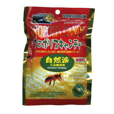 プロポリスキャンディー 自然派 80g (モンドセレクション ミツバチ 三温糖)