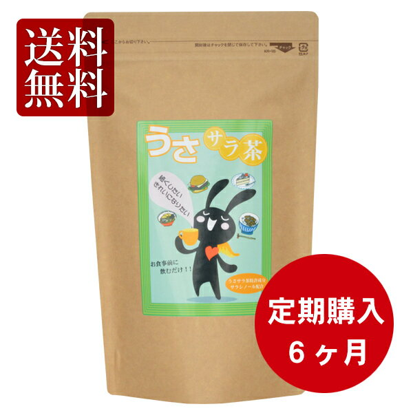 【送料無料・定期購入6か月分】 スーパーダイエット うさサラ茶【90袋】【サラシア配合 ダイエット ほうじ茶】【smtb-t】:日本健康美容開発
