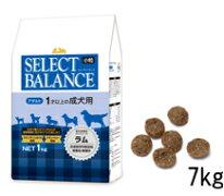 セレクトバランスアダルトラム小粒7kg