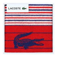 【ポイント5倍】LACOSTE(ラコステ)Lエスポワールスポーツタオル(レッド)【出産内祝いギフトに最適です。】【出産祝い