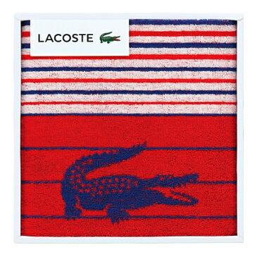 【送料込み】【ポイント5倍】【送料無料】LACOSTE(ラコステ)Lエスポワールスポーツタオル(レッド)【出産内祝ギフト 内祝いに最適です。】【出産祝い 返礼 お返し お祝いのお返し 人気 おしゃれ】