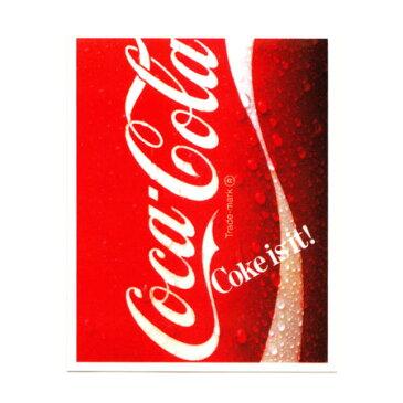 コカコーラ ステッカー グッズ アメリカン 車 おしゃれ レトロ アンティーク バイク ヘルメット かっこいい カーステッカー アメリカ アメリカン雑貨 【メール便OK】_SC-CCNS1-LFS