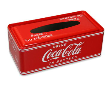 コカコーラ ティッシュケース グッズ ティッシュボックス おしゃれ かっこいい アメリカン アメリカン雑貨 PAUSE_TC-PJTC01-HYS