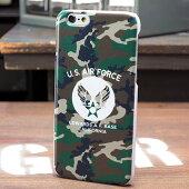 ミリタリーiPhone6ケース(カバー)U.S.エアフォース(アメリカ空軍)カモフラージュ