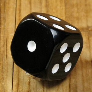 シフトノブダイス(サイコロ)ブラック1