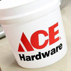 アメリカンバケツエースハードウェア(ACEHardware)約7.5リットルサイズSのフロント