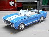 アメリカンペーパークラフトカー(車型紙製小物入れ/トレー)'67フォードシェルビーGT-500