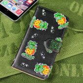 ラットフィンクiPhone6Plus/6SPlusケース総柄グリーン