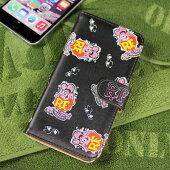 ラットフィンクiPhone6Plus/6SPlusケース総柄ピンク