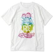 ラットフィンクTシャツ半袖グリッターホワイト