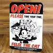 �ե���å�������������å�(FELIXTHECAT)������ץ졼��/OPEN��CLOSED1