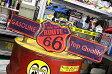 ルート66 サインプレート アンティーク 看板 サインボード ROUTE66 GASOLINE アメリカ アメリカン雑貨_SP-20515-FEE