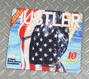 HUSTLER(ハスラー) マウスパッド おしゃれ セクシー 面白い 布製 おっぱい アメリカ アメリカン雑貨 JUL1984 【メール便OK】_SN-HDC18407-DGT