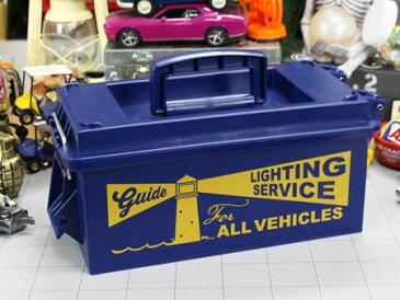 ツールボックス おしゃれ 工具箱 プラスチック アンモカン CDケース 小物入れ 車内収納 DIY アウトドア キャンプ アメリカ アメリカン雑貨 VEHICLES_SR-404405-SHO