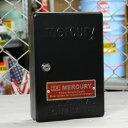 マーキュリー キーボックス 壁掛け インテリア おしゃれ MERCURY 鍵 収納 アメリカ アメリカン雑貨 ブラック_MC-C110BK-MCR