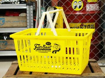 レディ・キロワット バスケット 収納 かご プラスチック おしゃれ マーケットバスケット 買い物かご 洗濯物 洗車 小物入れ アメリカ アメリカン雑貨 サイズL_SB-007L-SHO