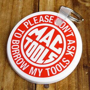 マックツールズ キーホルダー キーリング おしゃれ 鍵 車 企業 バイク ラバーキーホルダー アメリカ アメリカン雑貨 MAC TOOLS 【メール便OK】_KH-034-FEE