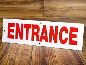 サインプレート 看板 標識 両面プリント ロング 入口 エントランス アメリカ アメリカン雑貨_SP-IGR78-MON