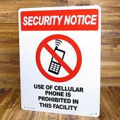 BIGサインプレート(案内板)/携帯電話使用禁止