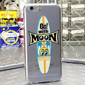 ムーンアイズiPhone6ケース(カバー)MOONEYESサーフボードクリア