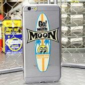 ムーンアイズiPhone6Plusケース(カバー)MOONEYESサーフボードクリア