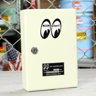 ムーンアイズ キーボックス 壁掛け インテリア おしゃれ 鍵 収納 MOONEYES アメリカ アメリカン雑貨_SR-QMG017-MON