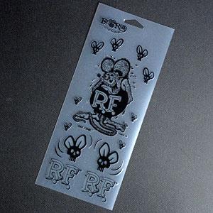 外装・エアロパーツ, ステッカー・デカール  RatFink OKSC-RDF035BK-MON