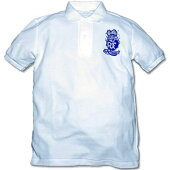 ラットフィンク(RATFINK)ポロシャツ/ホワイト1